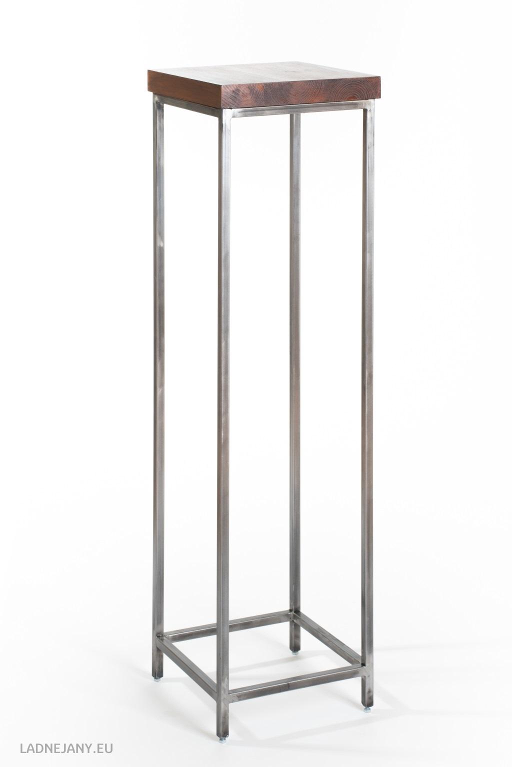 Metalowy kwietnik - cienki janek